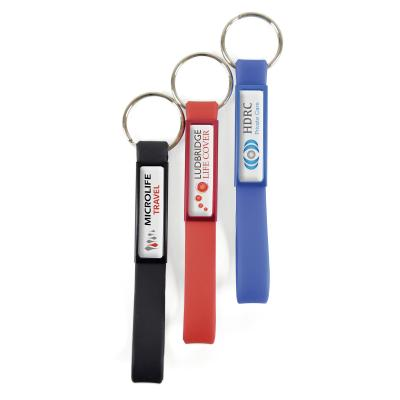 Image of Silicone domed keyring