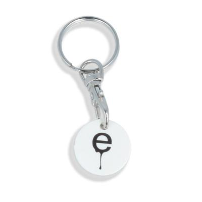 Image of Trolley Coin Keyring