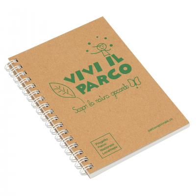Image of Recycled Natural Notebook A6